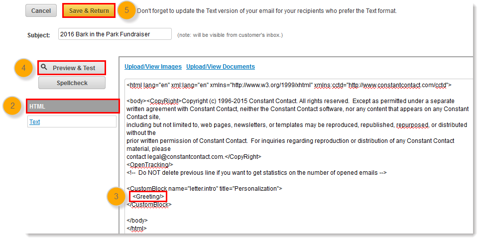 I Have Inserted The Merge Code To Question Appear In Email And It Does Not Display See Image