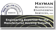 Hayman Residential Engineering Services, Inc. - Engineering Expertise for the Manufactured Housing Industry