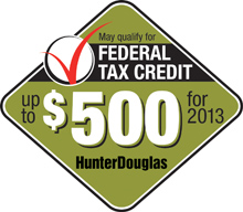 Many qualify for Federal Tax Credit up to $500 for 2013