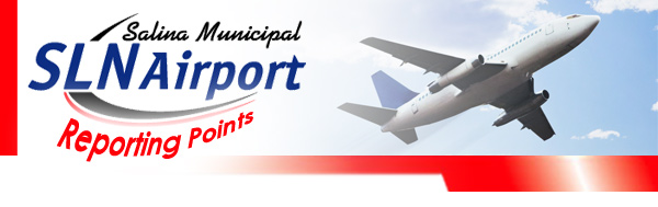 SLN Airport Reporting Points
