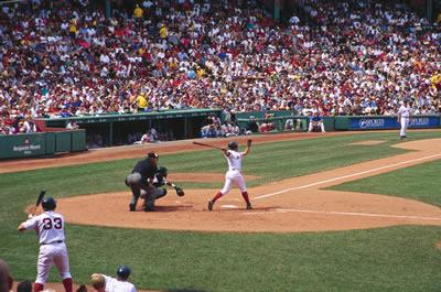 Baseball Season in Boston