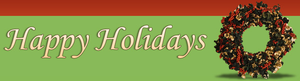 Holidays banner