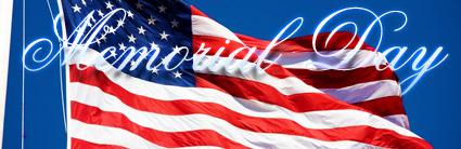 Memorial Day U.S. Flag
